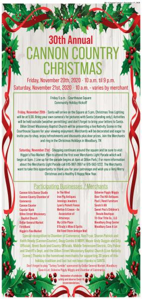 Big Christmas Shopping Event Starts Tonight Downtown