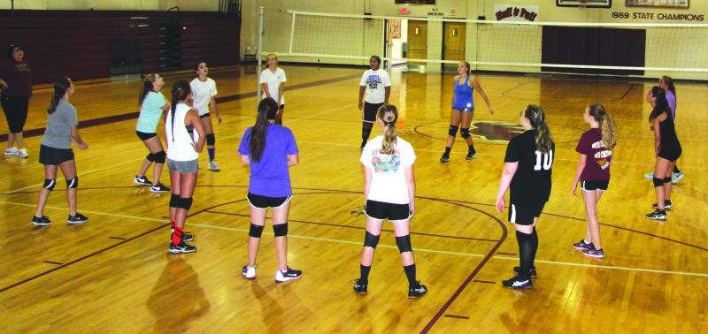 Volleyball team rebuilding | volleyball