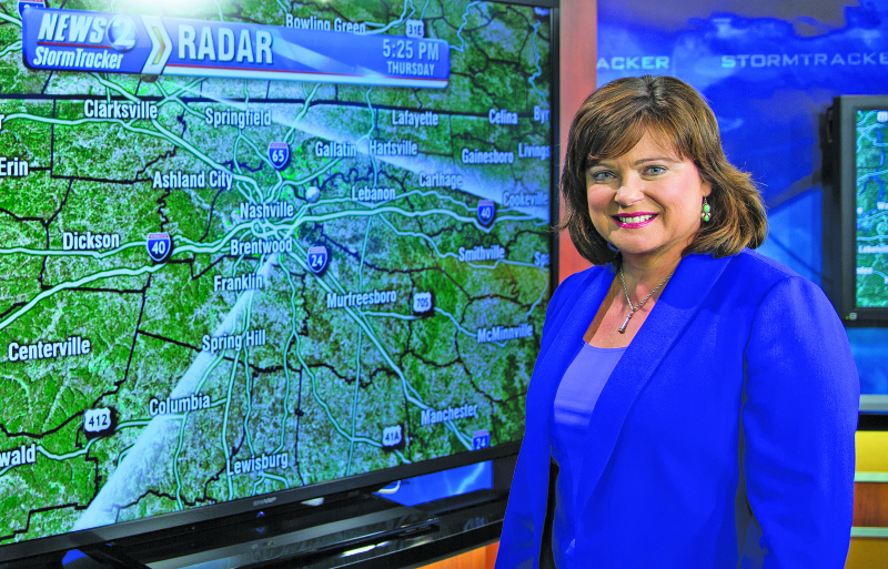 Lisa Patton hangs up her weather cap