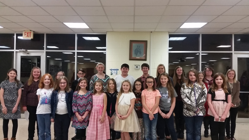 4-H Club public speaking contest