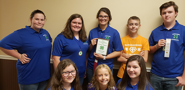 Local 4-H Poultry Judging Team places first