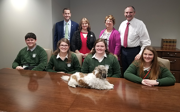 Cannon delegates attend Tennessee 4-H Congress