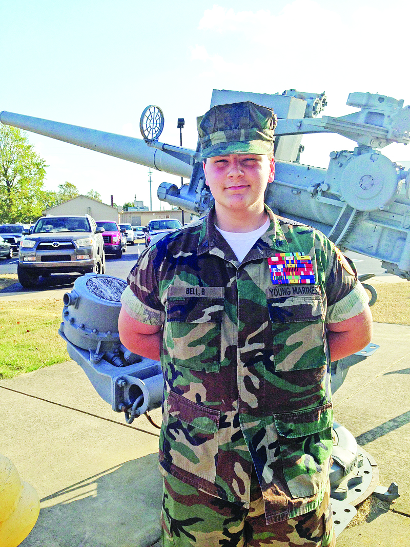 Young Marines honor Sgt. Bell for leadership | Bryson Bell