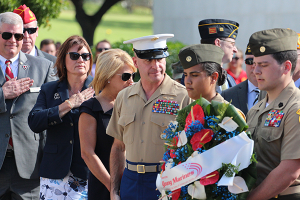 Bell attends Pearl Harbor Remembrances