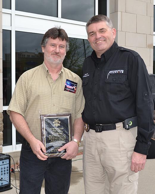 Pat Burdick honored as Good Samaritan
