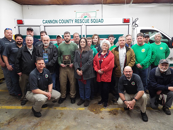 New rescue squad radio tower dedicated in honor of Elkins