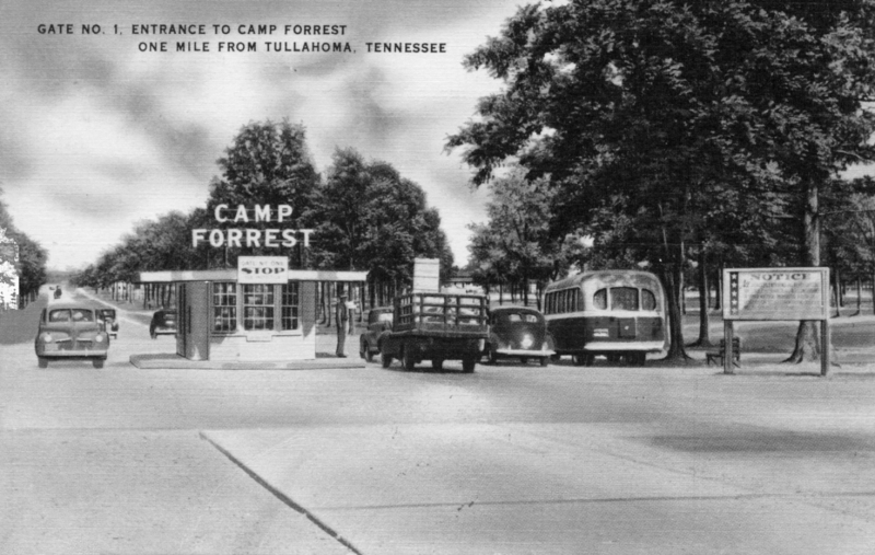 Author shares story of Camp Forrest