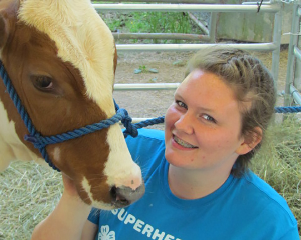 Abigail Buchanan named Cannon County 4-H June Dairy Month Chairman