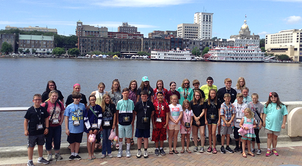 All Cannon schools represented at National Junior Beta Convention