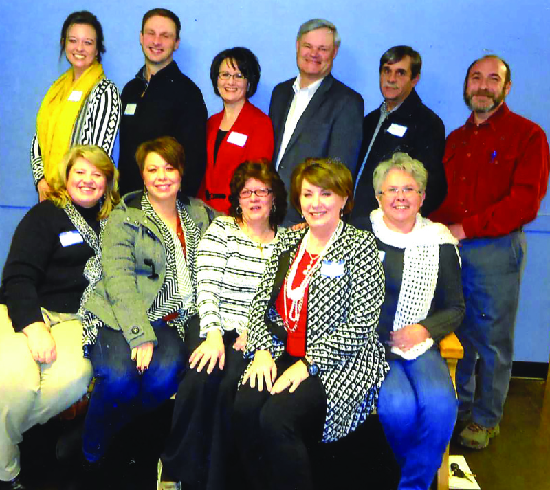 Chamber swears in officers