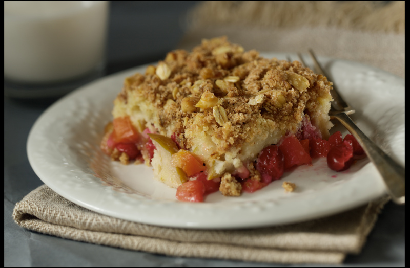 Cranberry Crumble