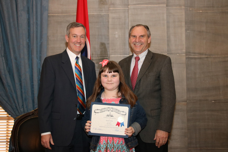 Woodland student wins third place