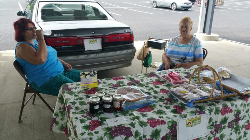 Farmers Market on Saturdays