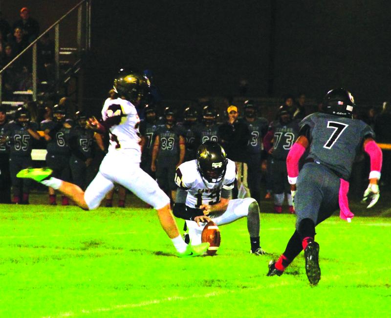 CCHS falls 69-3 to DeKalb Co.   CCHS football 2015, final game