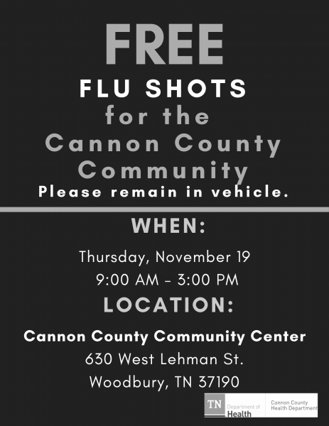 Free Flu Shots Going On Now