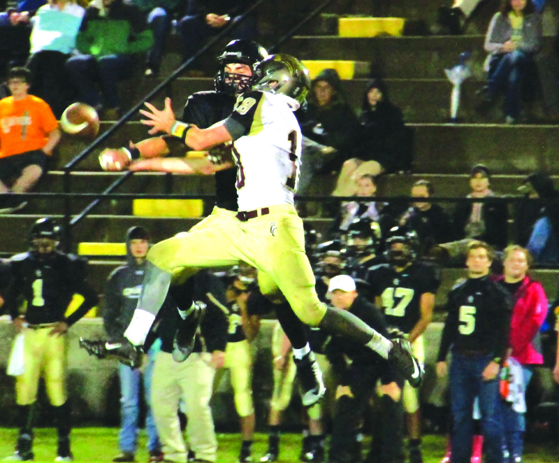 Lions fall to Smith County | CCHS football 2015, Smith County