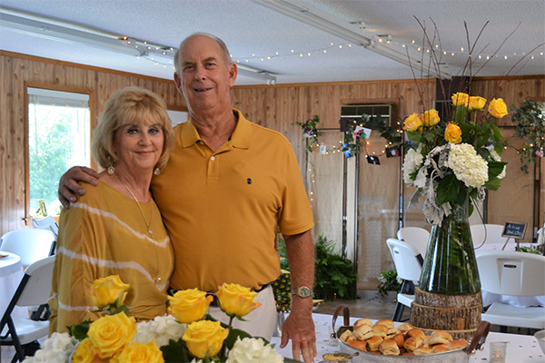 Golden couple: Browns celebrate anniversary