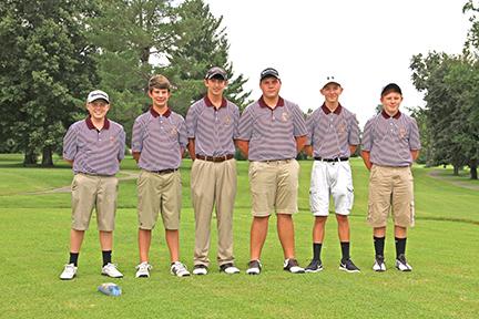 CCHS Golf Team 2016