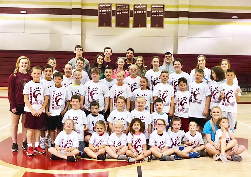 Basketball hoops clinic