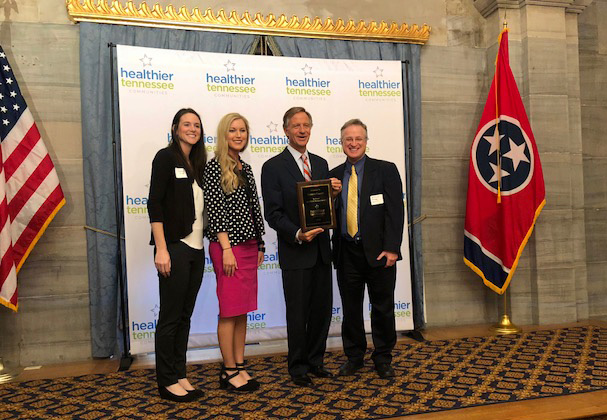 Cannon County's Healthier Tennessee Community Recognition Ceremony