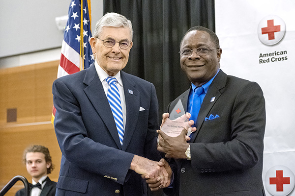 McPhee credits family, MTSU support for 'Hero Award'