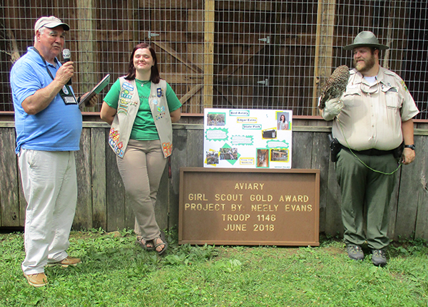 Trail, aviary now open at Edgar Evins State Park