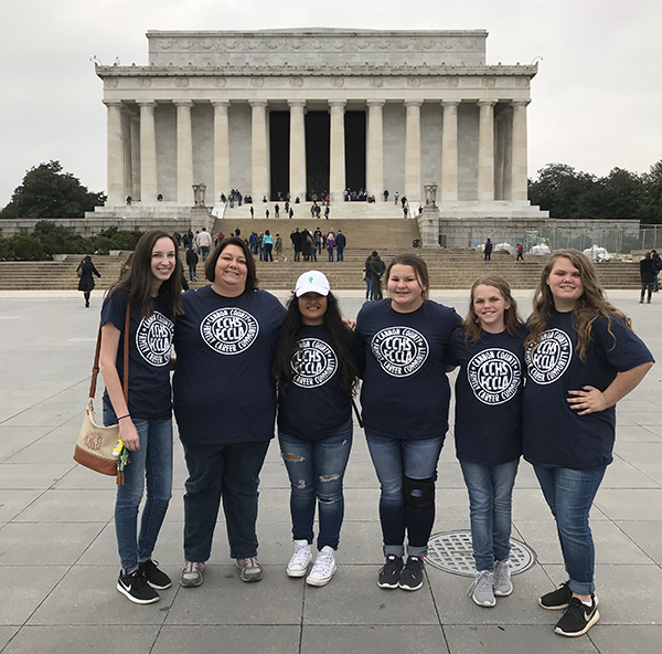CCHS students attend FCCLA National Cluster meeting in D.C.