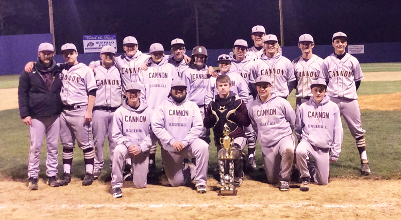 Lions win baseball tourney