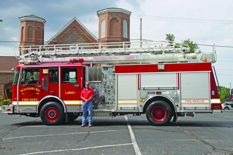 WFD lands ladder truck