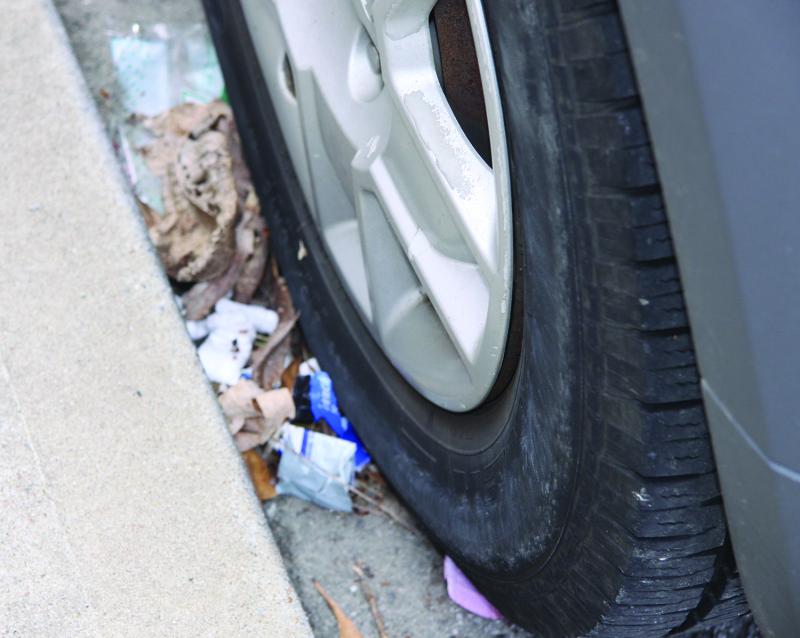 Don't trash up Spring | trash, litter