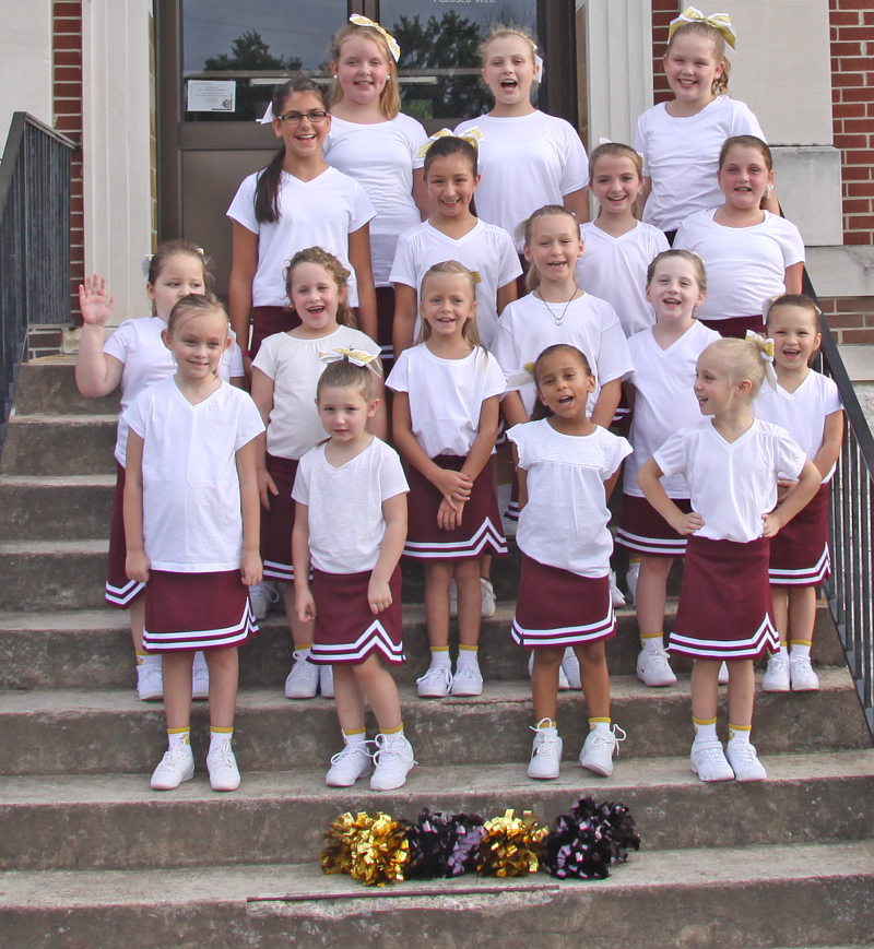 2016 Youth Cheerleaders