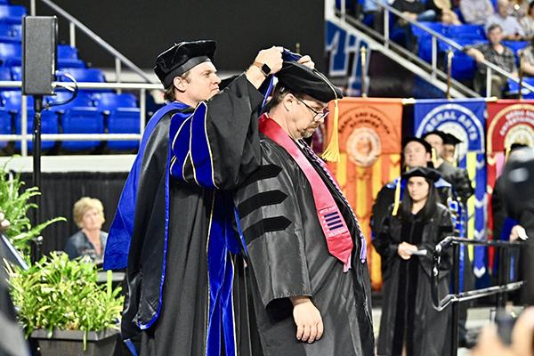 Woodbury resident earns fourth MTSU degree