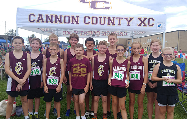Young Cannon runners compete in Macon meet