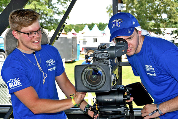 MTSU multimedia students return for unique, hands-on Bonnaroo experience
