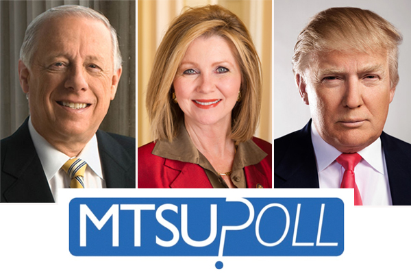 MTSU Poll: Bredesen leads Blackburn in Senate race
