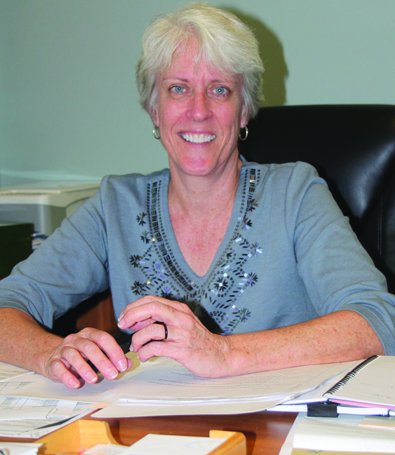 New director accepts Library post | Marsha Petty, Adams Library