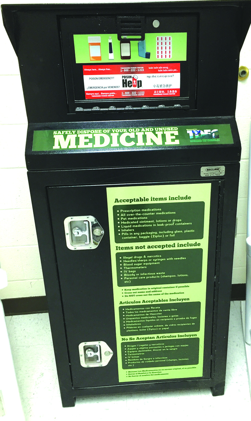 Dispose of drugs safely