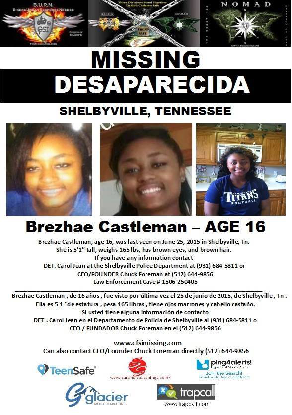 Missing child sought