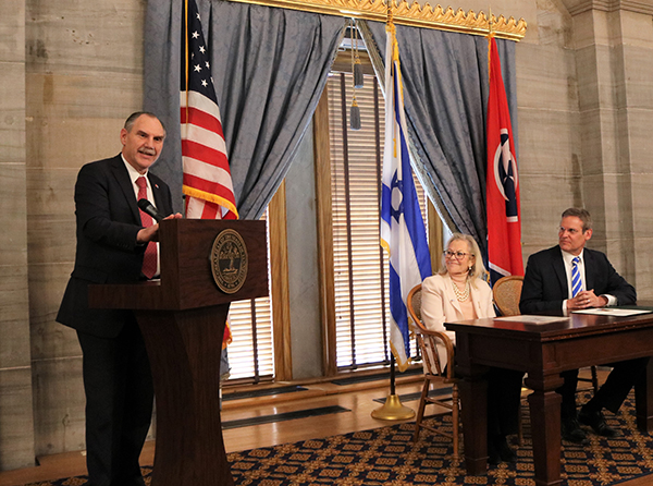 Pody's resolution expressing support for Israel passes State Senate
