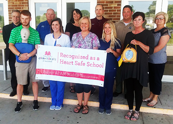 Cannon County Schools  are now 'Heart Safe'