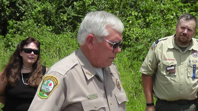 Road named in honor of Deputy Prater | Ira Darby Prater, 70S