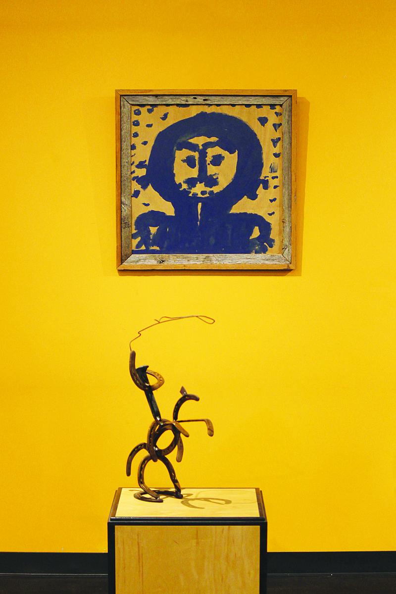 Reception kicks off self-taught art exhibit | Reception, self-taught art