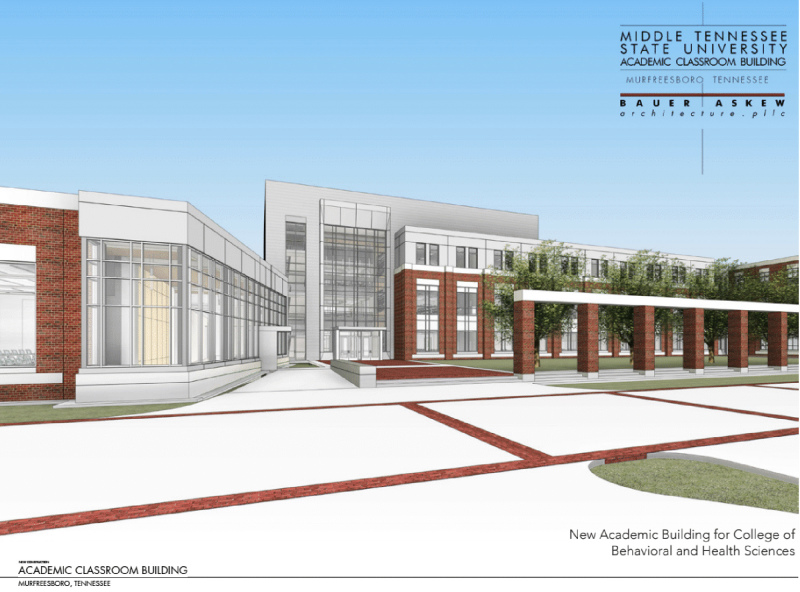 Governor's budget proposal includes new MTSU academic building