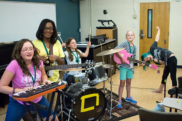 Southern Girls Rock Camp plans all-out blast
