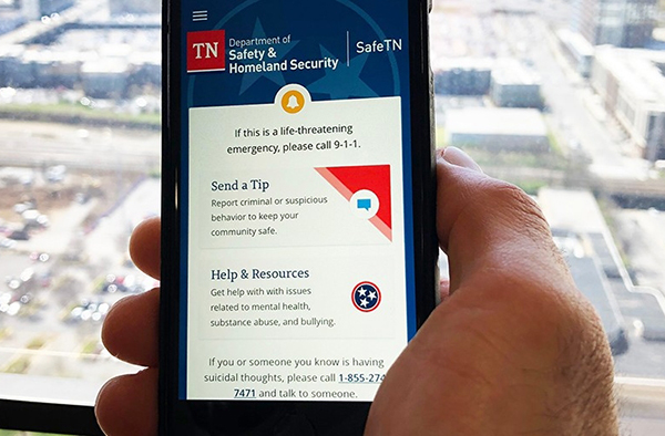 SafeTN app available now to report safety concerns