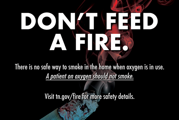 SFMO warns of fire hazards associated with medical oxygen