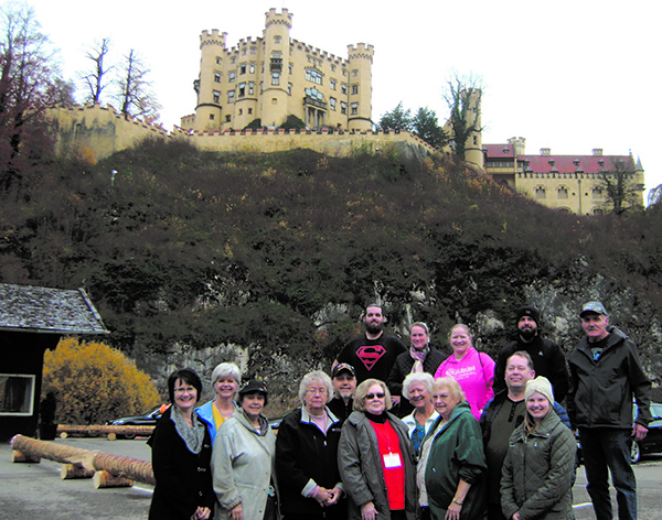 Local group visits three European countries