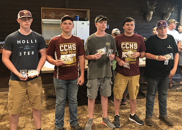 Trap team places third in state