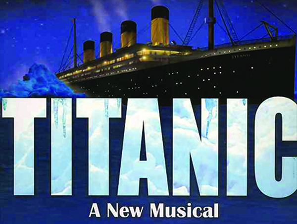 Titanic: A New Musical coming to Arts Center