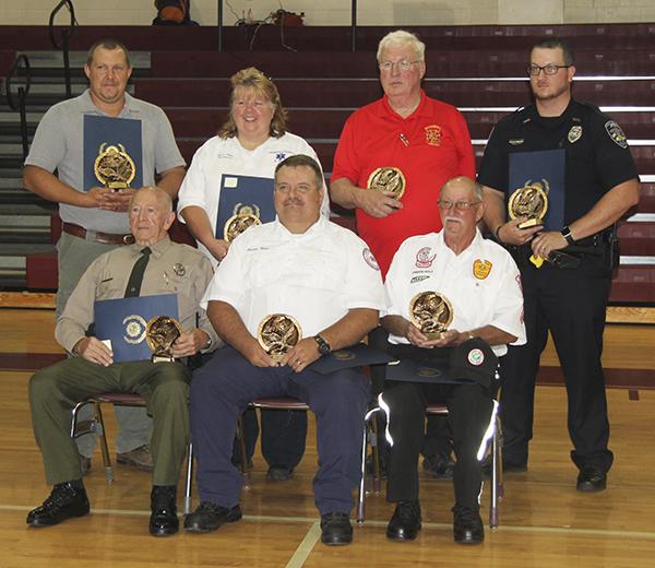 American Legion honors first responders